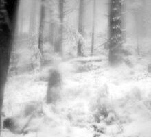 lost in a dream...black & white~ Sticker