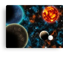 Life or Death of a star Canvas Print