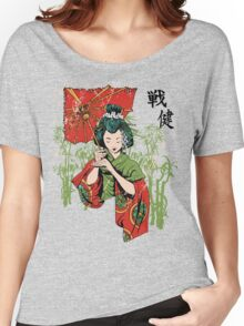 Traditional Geisha Design Women's Relaxed Fit T-Shirt