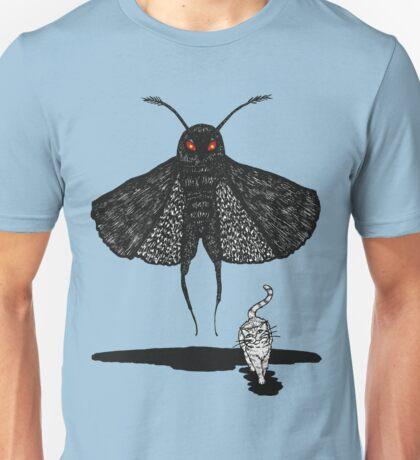 Mothman and a Cat Unisex T-Shirt