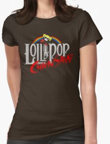 Lollipop Chainsaw Womens Fitted T-Shirt
