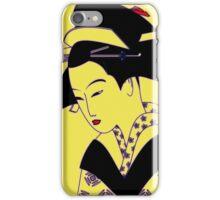 Geisha Portrait iPhone Case/Skin