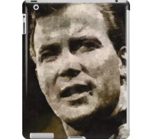 William Shatner Star Trek's Captain Kirk iPad Case/Skin