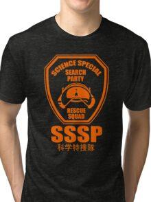 Science Special Search Party Ultraman Science Patrol SSSP Japan Tri-blend T-Shirt
