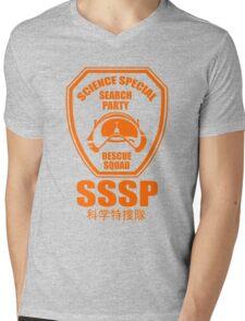 Science Special Search Party Ultraman Science Patrol SSSP Japan Mens V-Neck T-Shirt