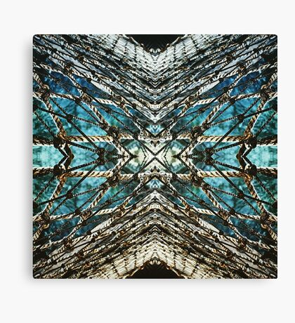 Abstract Net Canvas Print
