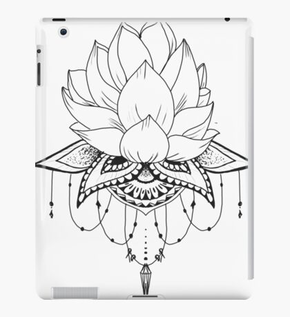 flower tattoo iPad Case/Skin