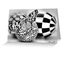 BLACK & WHITE SENSATION Greeting Card