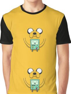 Jake from Adventure Time Graphic T-Shirt