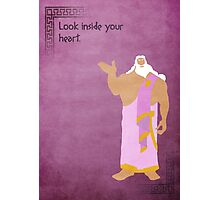 Hercules inspired design (Zeus). Photographic Print