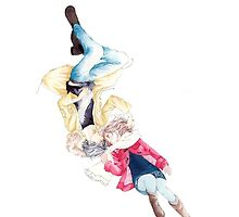 Ao Haru Ride Futaba And Kou Phone Case by Mastryx