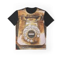 Vintage Telephone Graphic T-Shirt