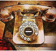 Vintage Telephone Photographic Print