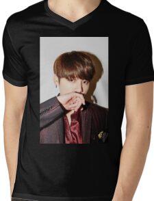 Jungkook bangtan boys Mens V-Neck T-Shirt