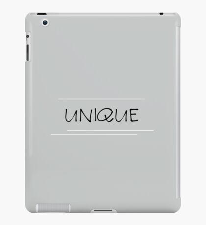 unique - gray white black such as the life iPad Case/Skin