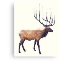 Elk // Reflect Canvas Print