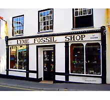 Fossil Shop Photographic Print