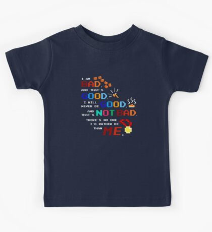 No One I'd Rather Be Kids Tee