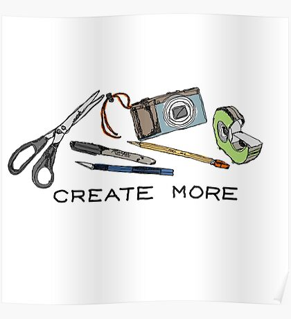 Create More Poster