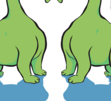 Dino Love Sticker