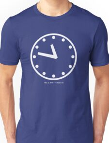 11:47pm CST Unisex T-Shirt
