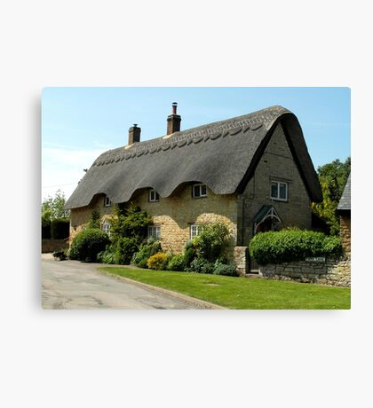 Thatched Cottage Canvas Print