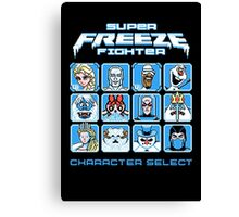 Super Freeze Fighter Canvas Print