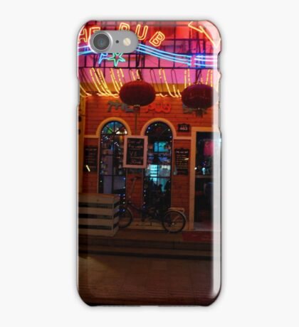CHINA OF THE LIGHT : The Pub iPhone Case/Skin