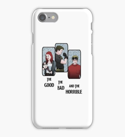 The Good, the Bad, and the Horrible iPhone Case/Skin