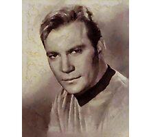 William Shatner Star Trek's Captain Kirk Photographic Print