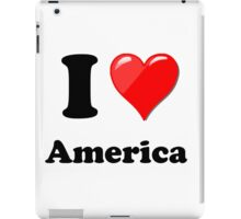 I Love America iPad Case/Skin