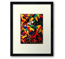 Colourful Jester Hats  Framed Print