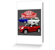 Mini 55th anniversary  Greeting Card