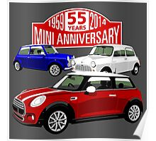 Mini 55th anniversary  Poster