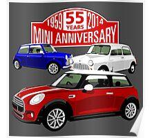 Mini 55th anniversary  Poster