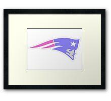 Patriots Logo Framed Print