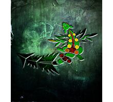 Tribal Mega Sceptile Photographic Print