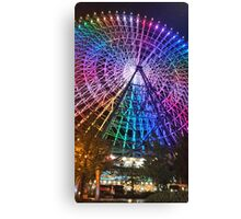 Rainbow Ferris Wheel Osaka Canvas Print