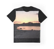 Lucy Vincent Beach at Sunset, Martha's Vineyard Graphic T-Shirt