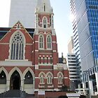Historic Church! St. George's Square, City of Brisbane, Qld. by Rita Blom