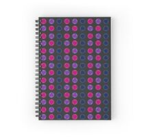 Colorful circles - vector pattern design Spiral Notebook