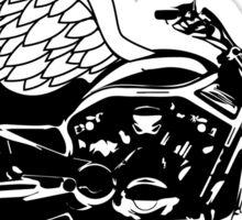Motorcycle Wings Sticker