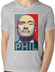 phil Mens V-Neck T-Shirt