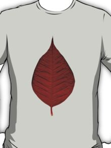 Red leave T-Shirt