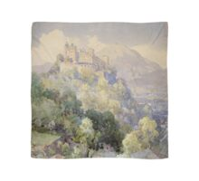 Overlooking the Hohenwerfen Fortress in Salzburg by Edward Theodor Compton Scarf