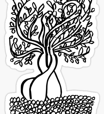 Zen Bonsai Sticker