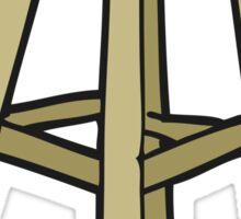 cartoon stool Sticker