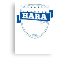 HARA-The-Awesome Canvas Print