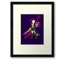 Super Smash Bros Robin Female Framed Print