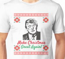 Make Christmas Great Again Ugly Sweater Donald Trump Unisex T-Shirt